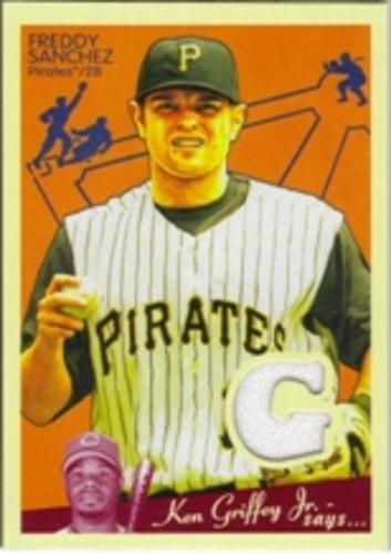 Photo of 2008 Upper Deck Goudey Memorabilia #FS Freddy Sanchez