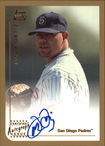 Photo of 1999 Topps Traded Autographs #T72 Omar Ortiz