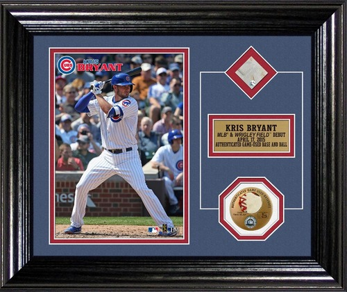 Photo of Kris Bryant MLB Debut Plaque