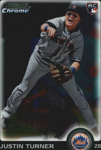 Photo of 2010 Bowman Chrome Draft #BDP105 Justin Turner RC