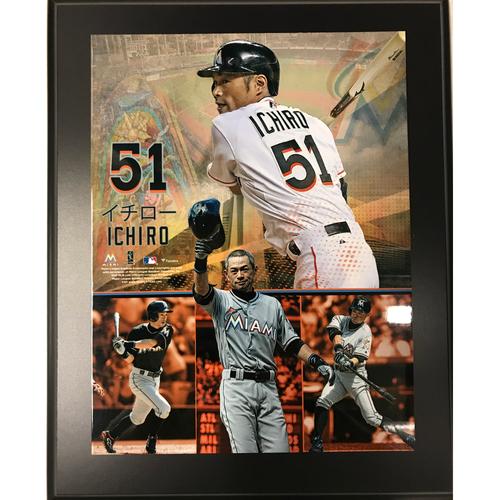 Photo of Ichiro Suzuki Photo Plaque