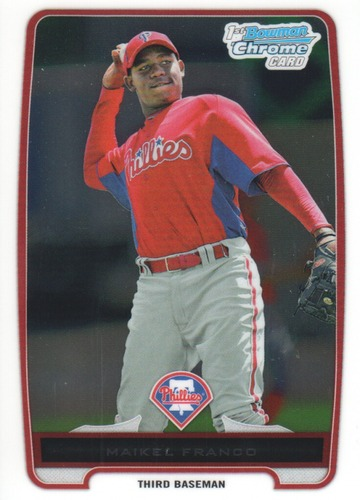 Photo of 2012 Bowman Chrome Prospects #BCP112A Maikel Franco