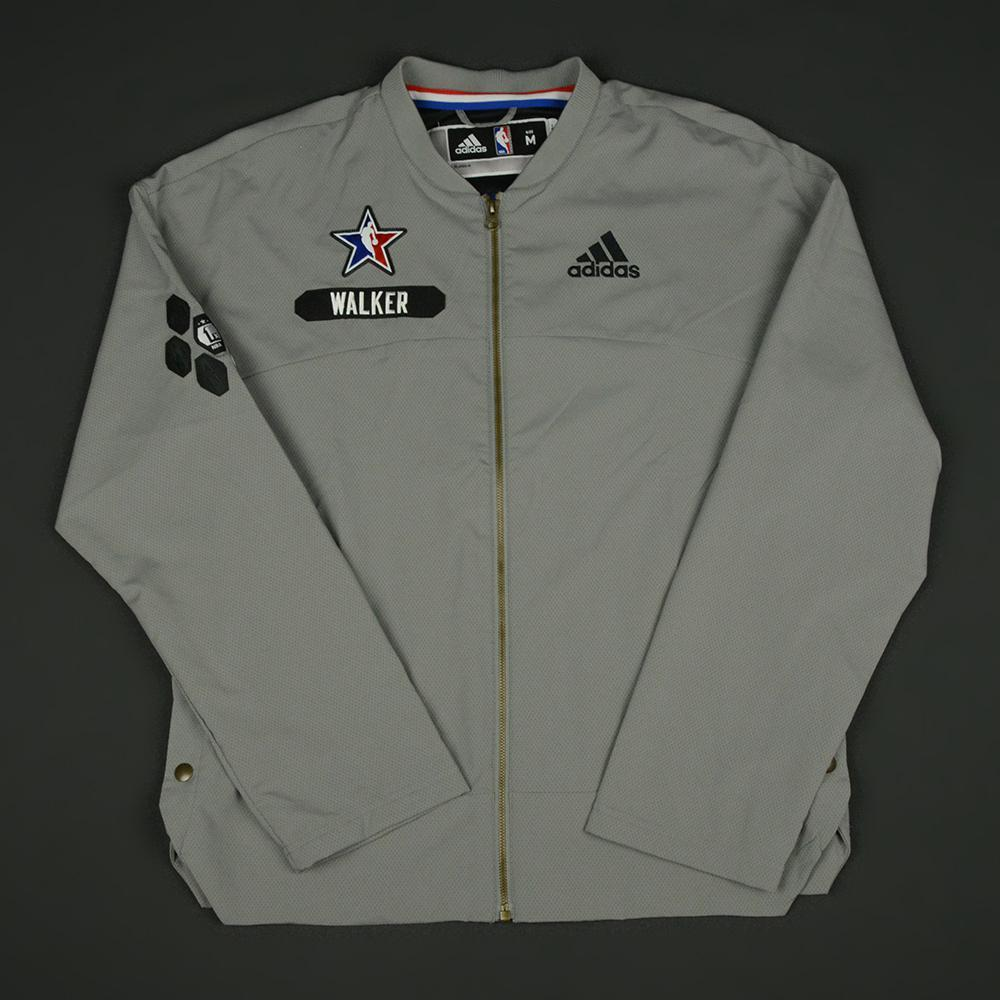 Kemba Walker - 2017 NBA All-Star Game - Eastern Conference - Warmup-Worn Jacket