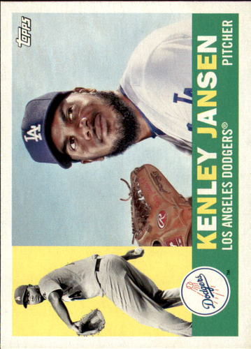 Photo of 2017 Topps Archives #90 Kenley Jansen -- Dodgers post-season