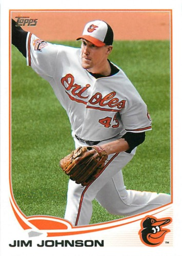 Photo of 2013 Topps #143 Jim Johnson