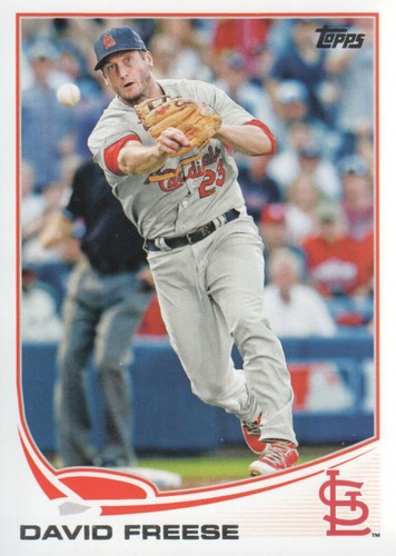 Photo of 2013 Topps #658 David Freese