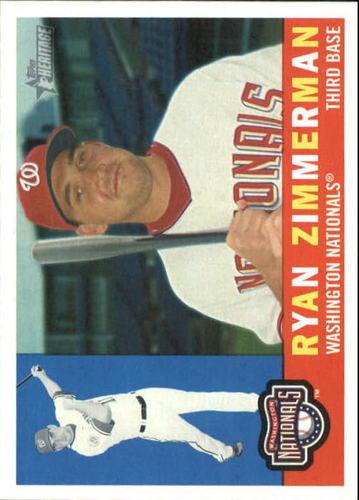 Photo of 2009 Topps Heritage #210 Ryan Zimmerman