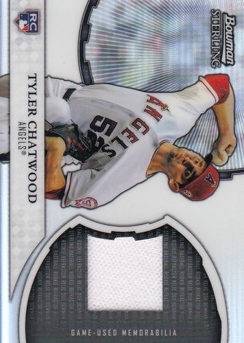 Photo of 2011 Bowman Sterling Rookie Relics #TC Tyler Chatwood