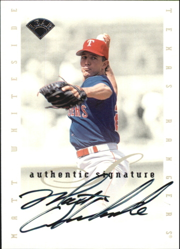 Photo of 1996 Leaf Signature Extended Autographs #212 Matt Whiteside