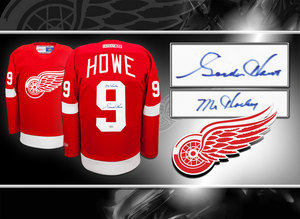 Gordie Howe Detroit Red Wings Mr. Hockey CCM Autographed Jersey