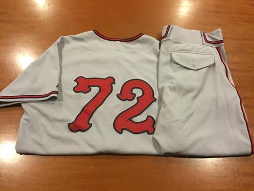 Photo of Mike Stefanski Game-Used Cincinnati Tigers Uniform