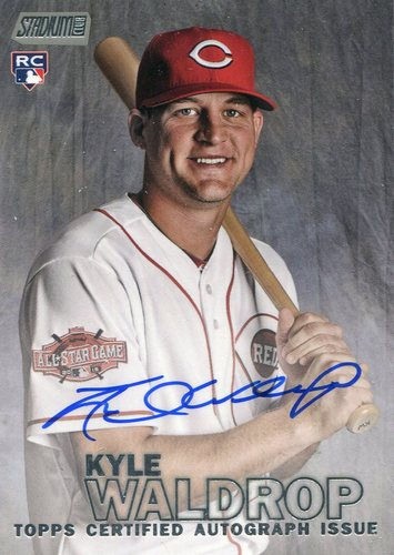 Photo of 2016 Stadium Club Autographs #SCAKW Kyle Waldrop