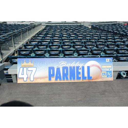 Photo of Bobby Parnell Spring Training Locker Name Plate