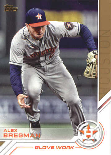 Photo of 2017 Topps Update Salute #USS16 Alex Bregman