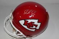 NFL - CHIEFS JAMAAL CHARLES SIGNED CHIEFS PROLINE HELMET