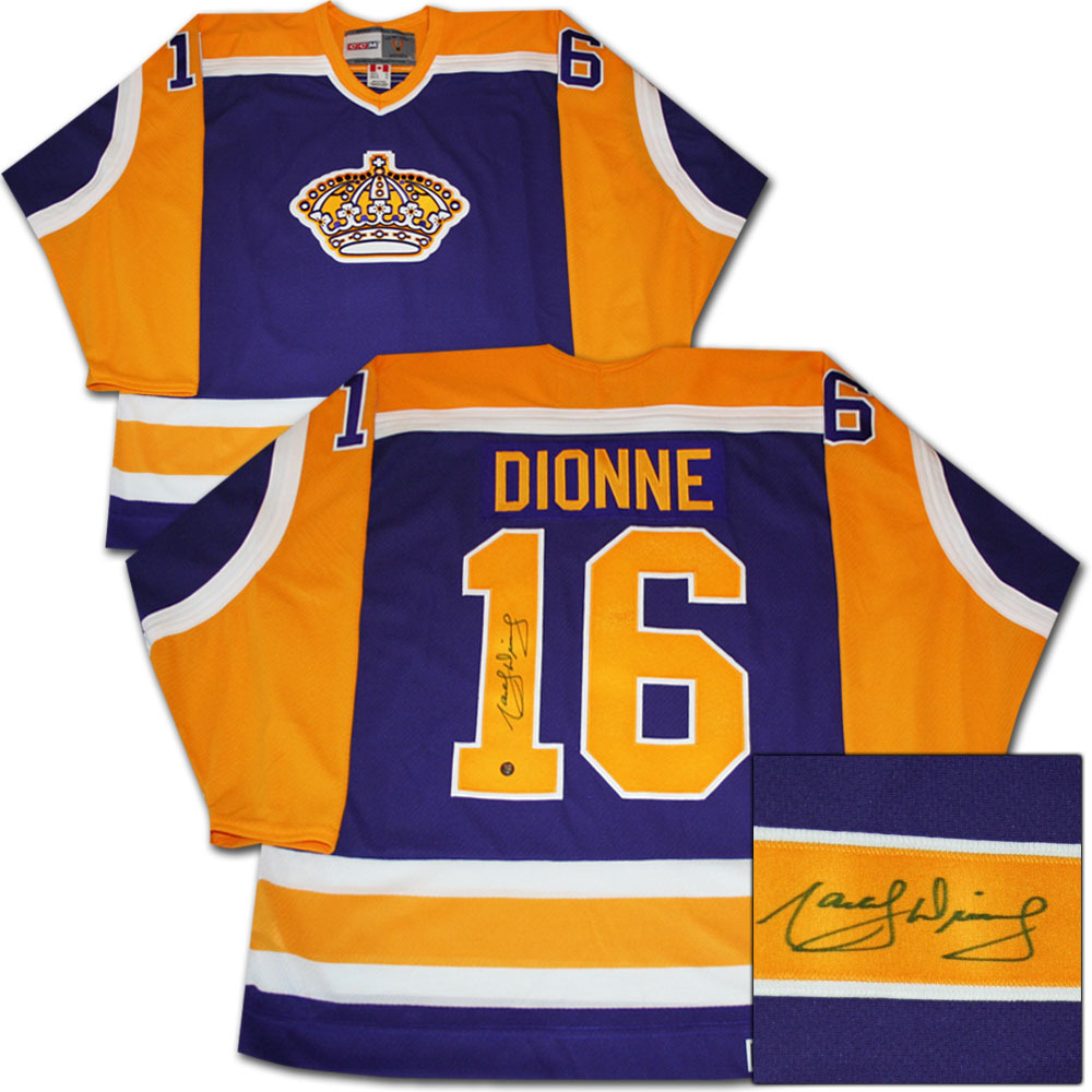 Marcel Dionne Autographed Los Angeles Kings Jersey