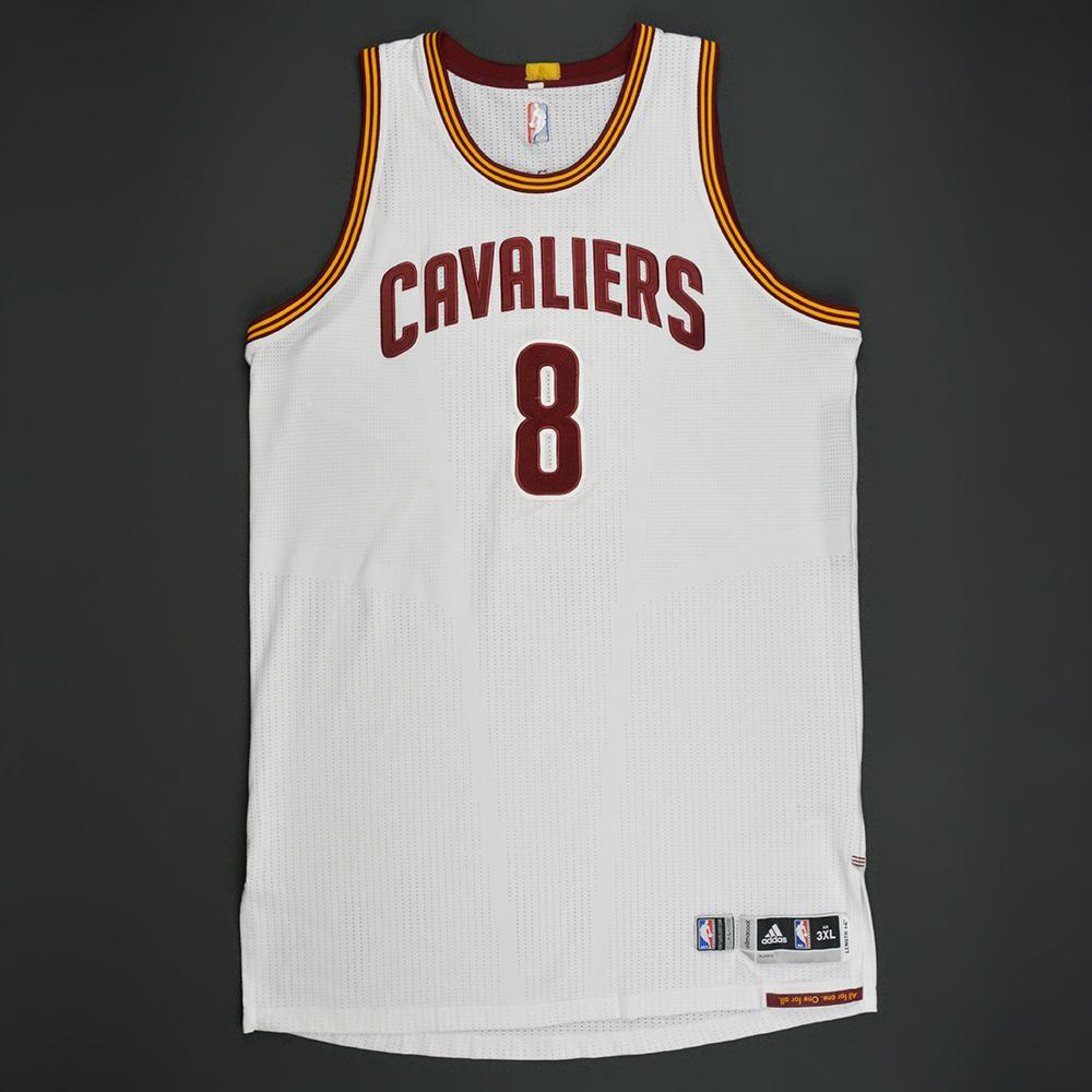 Channing Frye - Cleveland Cavaliers - White Playoffs Game-Worn Jersey - 1st Half Only - 2016-17 Season