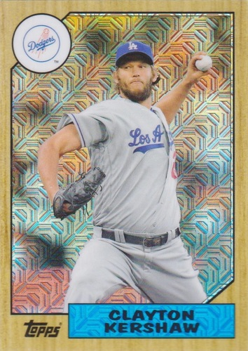 Photo of 2017 Topps '87 Topps Silver Pack Chrome #87CK Clayton Kershaw