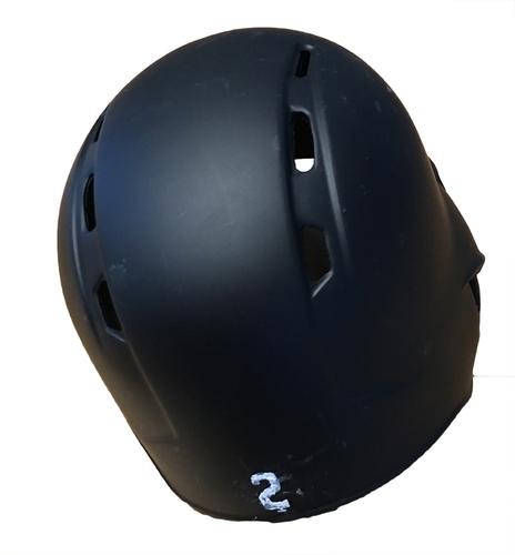 Photo of Tommy La Stella Game-Used Chicago Leland Giants Batting Helmet -- Cubs vs. Pirates -- 6/16/17