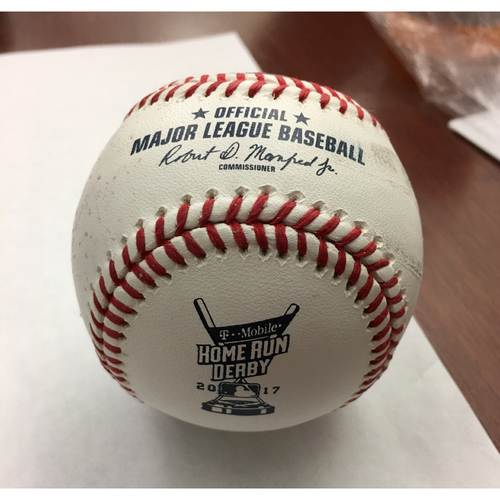 Photo of 2017 Home Run Derby Auction: Mike Moustakas Home Run #9 Baseball - Round 1