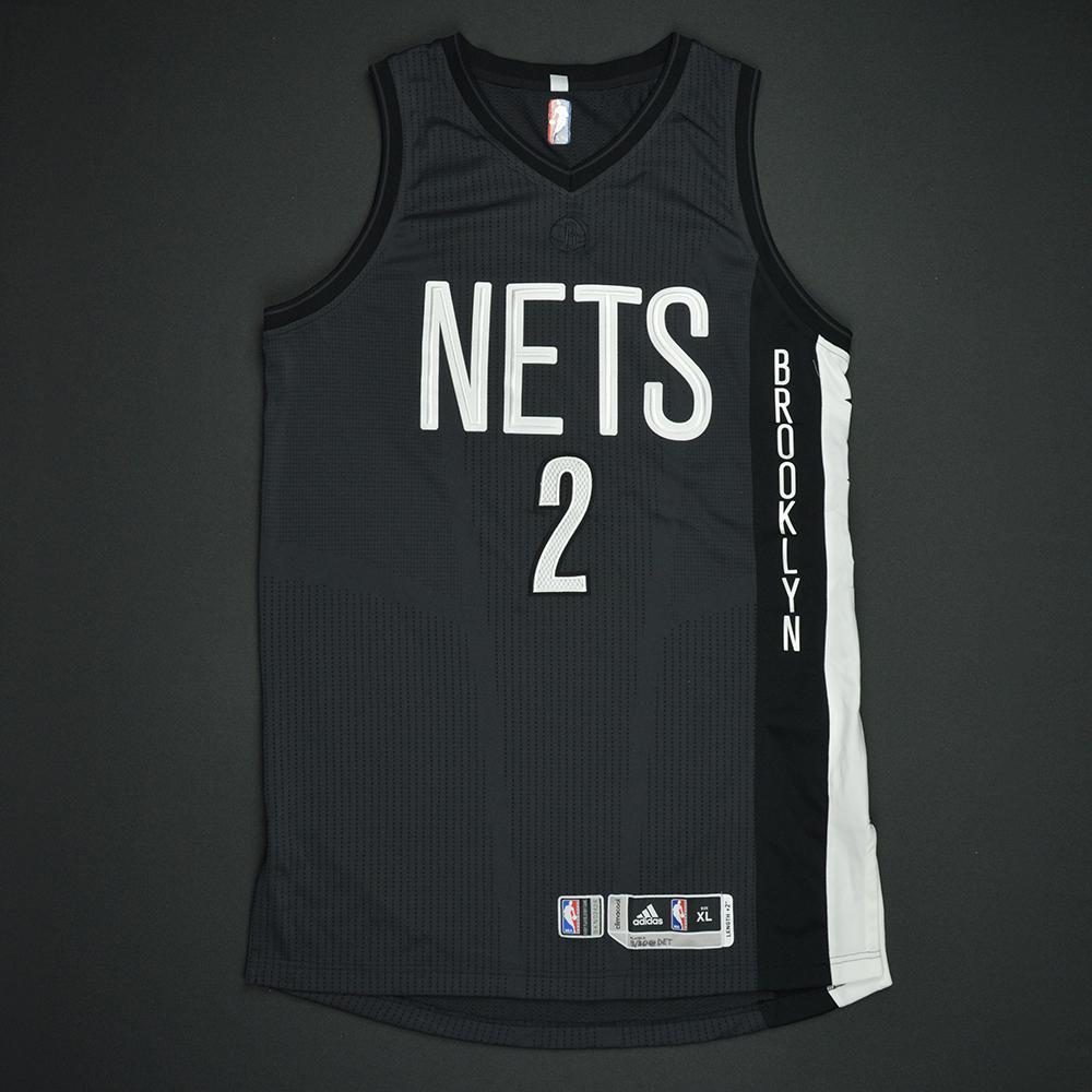 Randy Foye - Brooklyn Nets - Game-Worn Black Alternate Jersey - 2016-17 Season