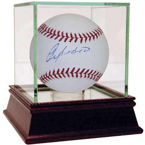 Photo of Yoenis Cespedes Autographed MLB Baseball - Case Not Included