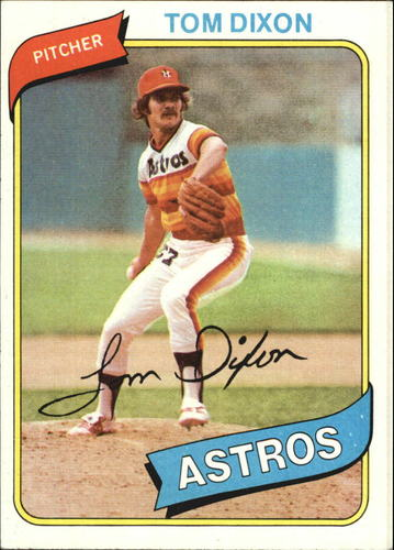 Photo of 1980 Topps #513 Tom Dixon DP