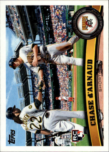 Photo of 2011 Topps Update #US297 Chase D'Arnaud RC