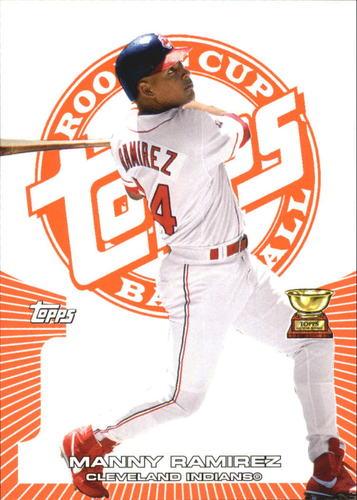 Photo of 2005 Topps Rookie Cup Orange #89 Manny Ramirez