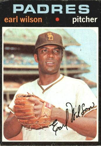 Photo of 1971 Topps #301 Earl Wilson
