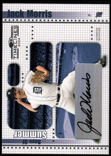 Photo of 2004 Donruss Timelines Boys of Summer Autograph #22 Jack Morris