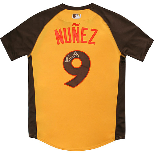 Photo of Eduardo Nunez 2016 Major League Baseball Workout Day/Home Run Derby Autographed Jersey