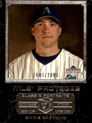 Photo of 2003 Upper Deck Classic Portraits #152 Chris Capuano MP RC