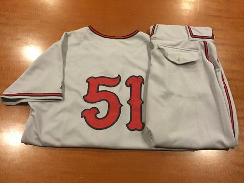 Photo of Steve Selsky Game-Used Cincinnati Tigers Uniform