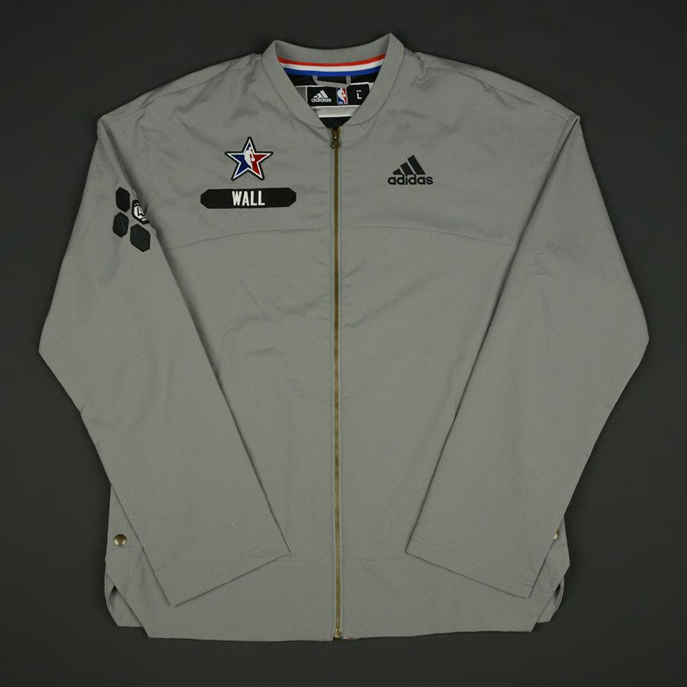John Wall - 2017 NBA All-Star Game - Eastern Conference - Warmup-Worn Jacket