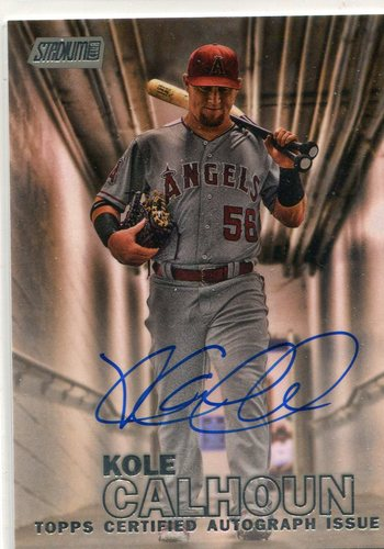 Photo of 2016 Stadium Club Autographs  Kole Calhoun
