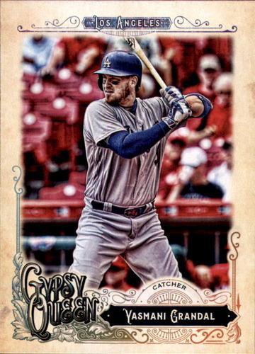 Photo of 2017 Topps Gypsy Queen #56 Yasmani Grandal