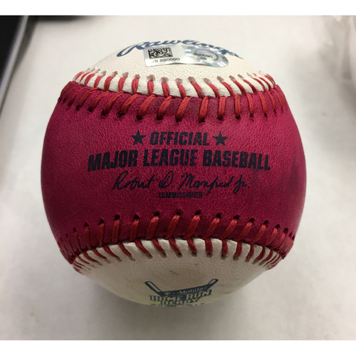 Photo of 2017 Home Run Derby Auction: Justin Bour Home Run #21 Baseball - Round 1, Bonus Round