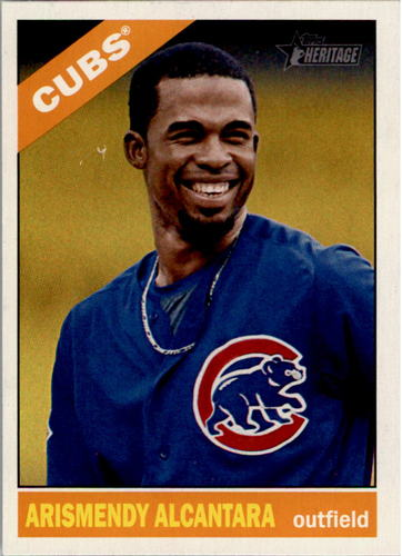 Photo of 2015 Topps Heritage #253 Arismendy Alcantara