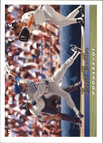 Photo of 1993 Upper Deck Gold Hologram #259 Brett Butler