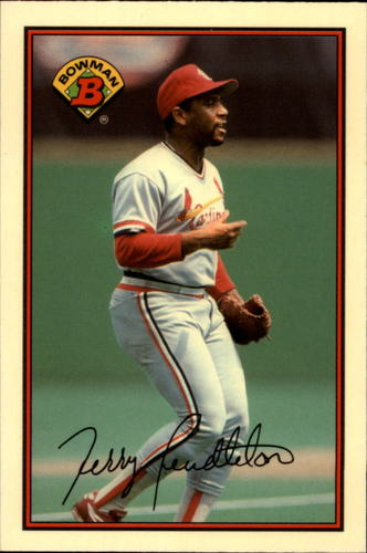 Photo of 1989 Bowman Tiffany #437 Terry Pendleton
