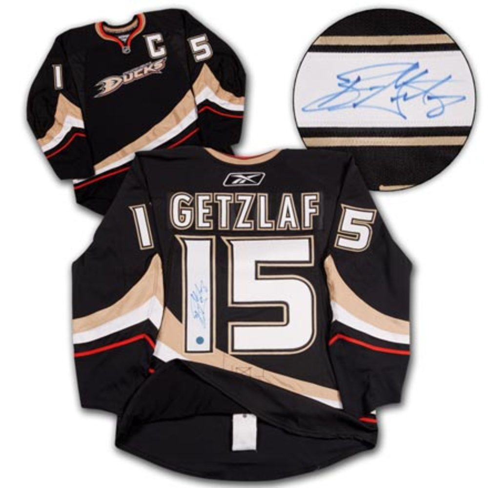 RYAN GETZLAF Anaheim Ducks SIGNED Pro Jersey