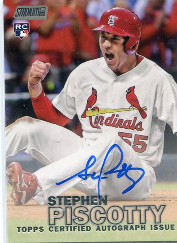 Photo of 2016 Stadium Club Autographs  Stephen Piscotty