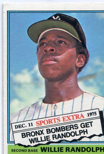 Photo of 1976 Topps Traded #592T Willie Randolph