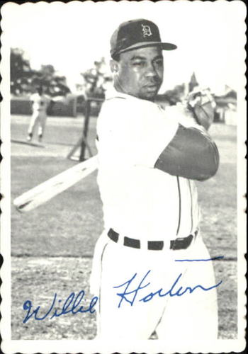 Photo of 1969 Topps Deckle Edge #9 Willie Horton