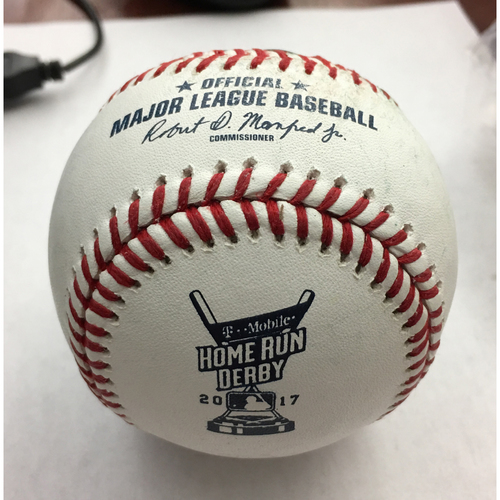 Photo of 2017 Home Run Derby Auction: Cody Bellinger Home Run #2 Baseball - Round 1