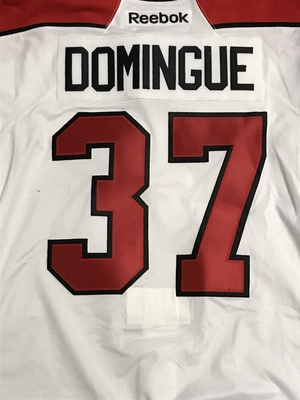 Louis Domingue 2011 Canada Russia Series Game Worn Jersey