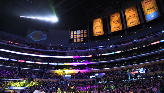 LOS ANGELES LAKERS BASKETBALL GAME: 1/3 LAKERS VS. NEW ORLEANS (2 LOWER LEVEL TICK...