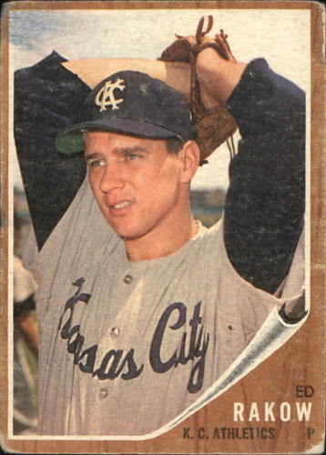 Photo of 1962 Topps #342 Ed Rakow