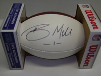 NFL - TEXANS BRAXTON MILLER SIGNED PANEL BALL